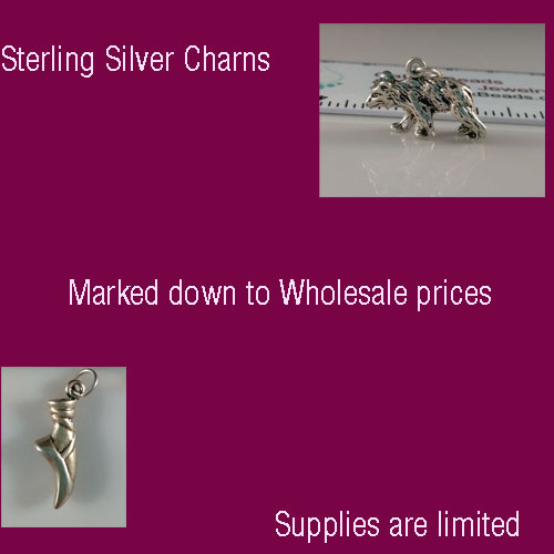 Sterling Silver Charms on Sale