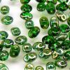 SuperDuo Beads, 2.5x5mm Chrysolite Celsian [10g]