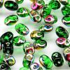 SuperDuo Beads, 2.5x5mm Chrysolite Vitrial [10g]