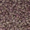 SuperDuo Beads, 2.5x5mm Violet Opaque Picasso [10g]