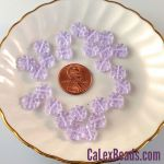 Czech Glass 9mm Daisy Disc Beads:Alexandrite [25]