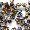 SuperDuo Beads, 2.5x5mm Crystal Vitrial [10g]