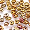 SuperDuo Beads, 2.5x5mm Crystal Gold AB [10g]