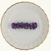 "Barrettes:Rock Candy, Amethyst (Large Stone) 2"" [ea]"