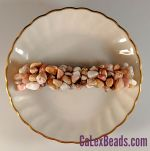 "Barrettes:Rock Candy, Pink Opal (Large Stone) 3"" [ea]"