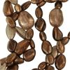 "CLOSE OUT:Luster Smoky Topaz Mix Beads [15"" Strand]"