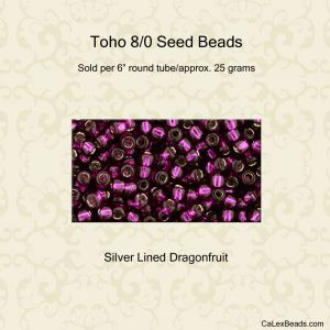 Light Siam AB 25g 2mm Glass Seed Beads